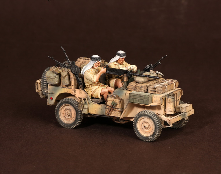 Figures: LRDG/SAS jeeps, photo #27