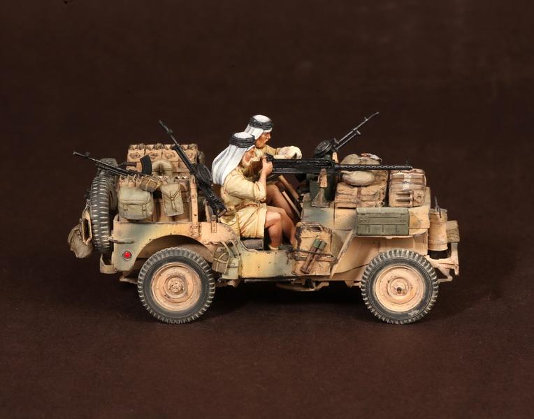 Figures: LRDG/SAS jeeps, photo #28