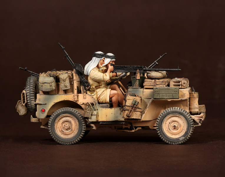 Figures: LRDG/SAS jeeps, photo #29