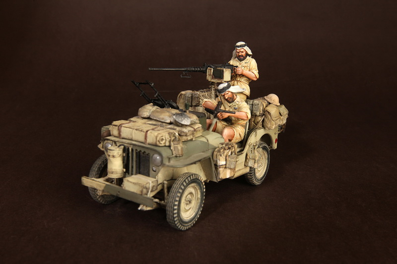 Figures: LRDG/SAS jeeps, photo #3