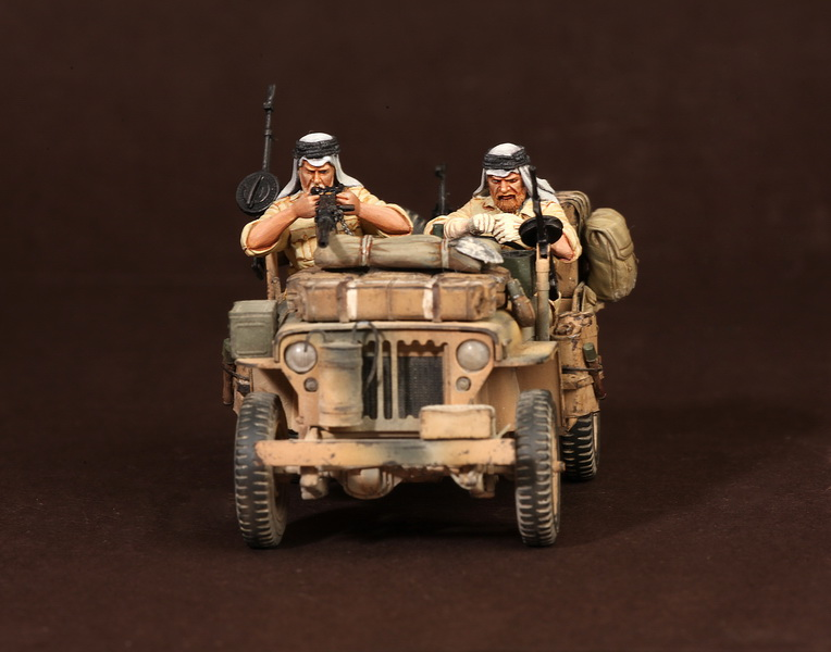 Figures: LRDG/SAS jeeps, photo #30