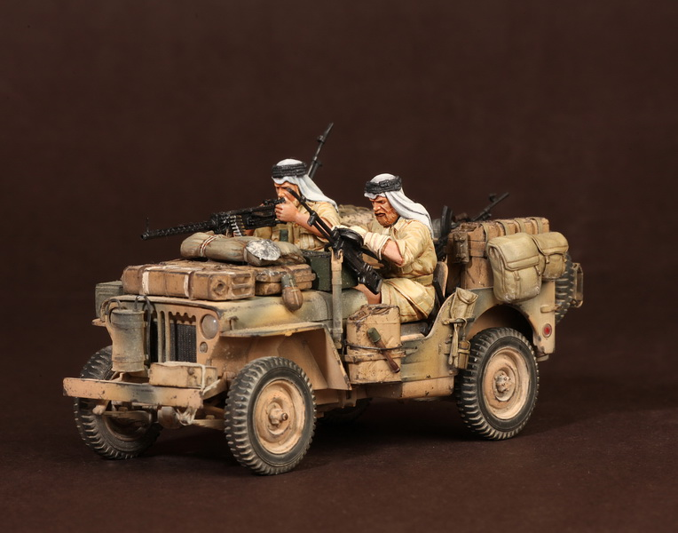 Figures: LRDG/SAS jeeps, photo #31