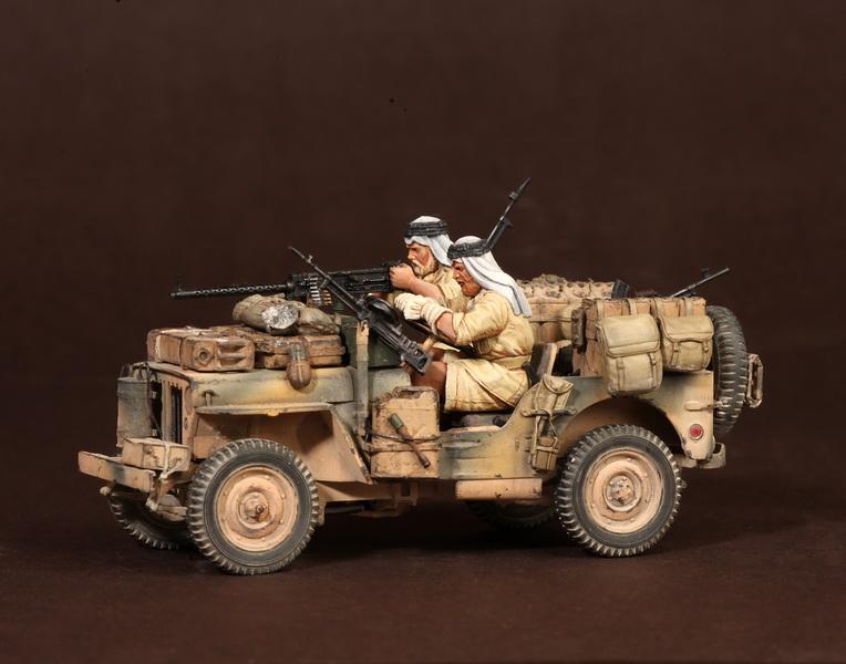 Figures: LRDG/SAS jeeps, photo #32