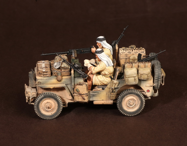 Figures: LRDG/SAS jeeps, photo #33
