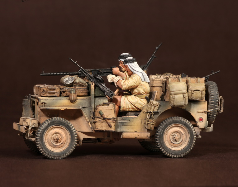 Figures: LRDG/SAS jeeps, photo #34