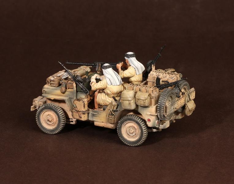 Figures: LRDG/SAS jeeps, photo #35