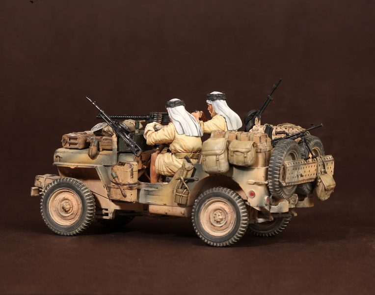 Figures: LRDG/SAS jeeps, photo #36
