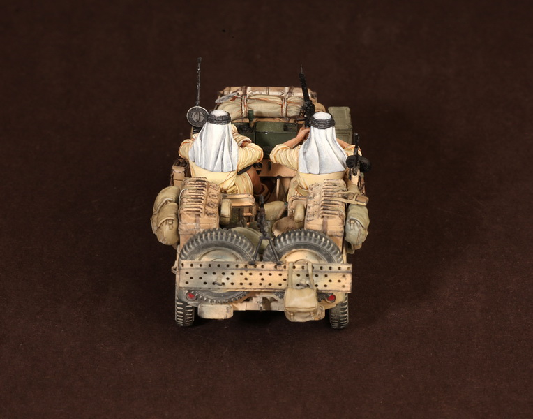 Figures: LRDG/SAS jeeps, photo #37