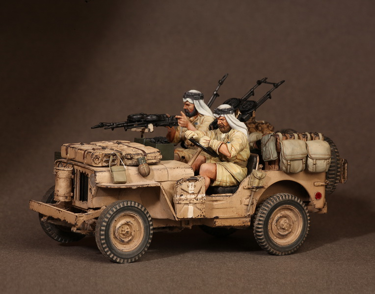 Figures: LRDG/SAS jeeps, photo #38