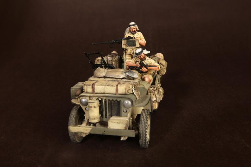 Figures: LRDG/SAS jeeps, photo #4