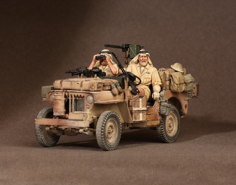 Figures: LRDG/SAS jeeps, photo #40