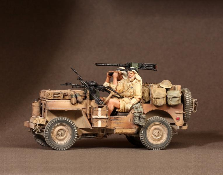 Figures: LRDG/SAS jeeps, photo #42
