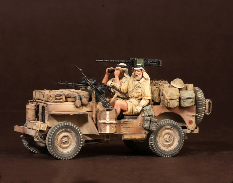 Figures: LRDG/SAS jeeps, photo #43