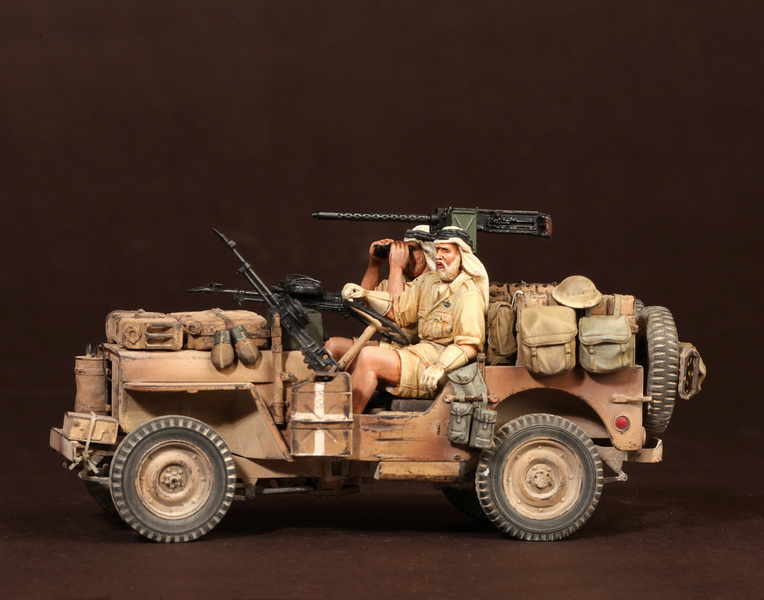 Figures: LRDG/SAS jeeps, photo #44