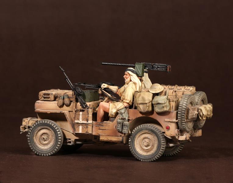 Figures: LRDG/SAS jeeps, photo #45