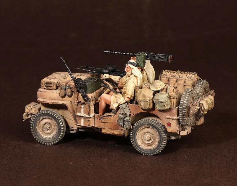Figures: LRDG/SAS jeeps, photo #46