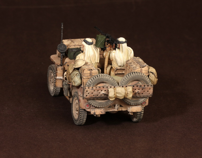 Figures: LRDG/SAS jeeps, photo #48