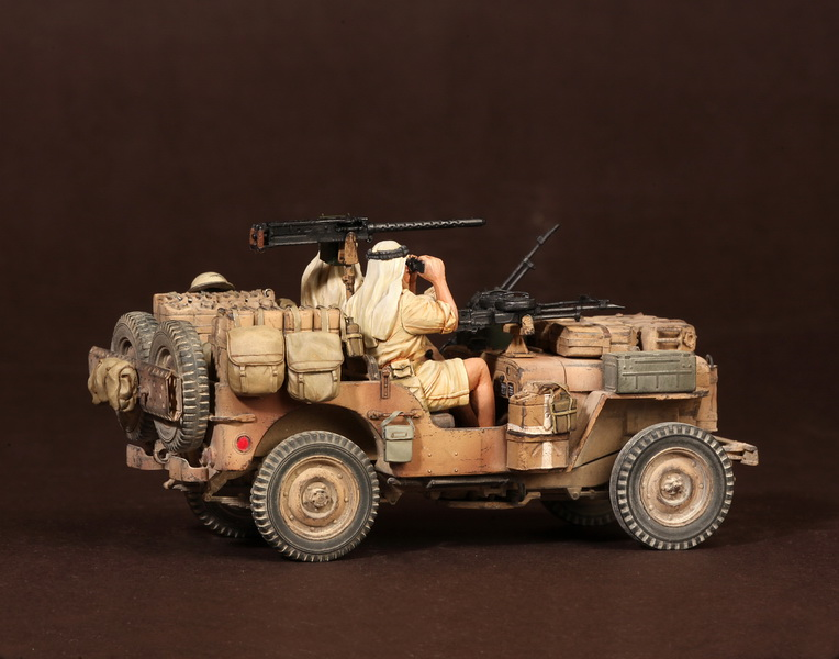 Figures: LRDG/SAS jeeps, photo #49
