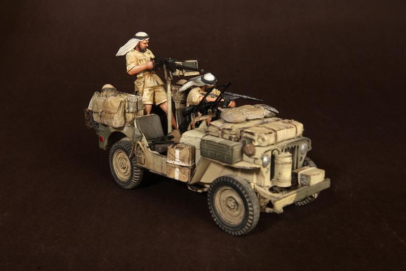 Figures: LRDG/SAS jeeps, photo #5
