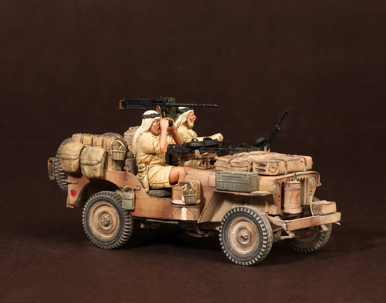 Figures: LRDG/SAS jeeps, photo #51