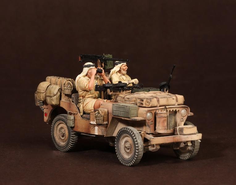 Figures: LRDG/SAS jeeps, photo #52