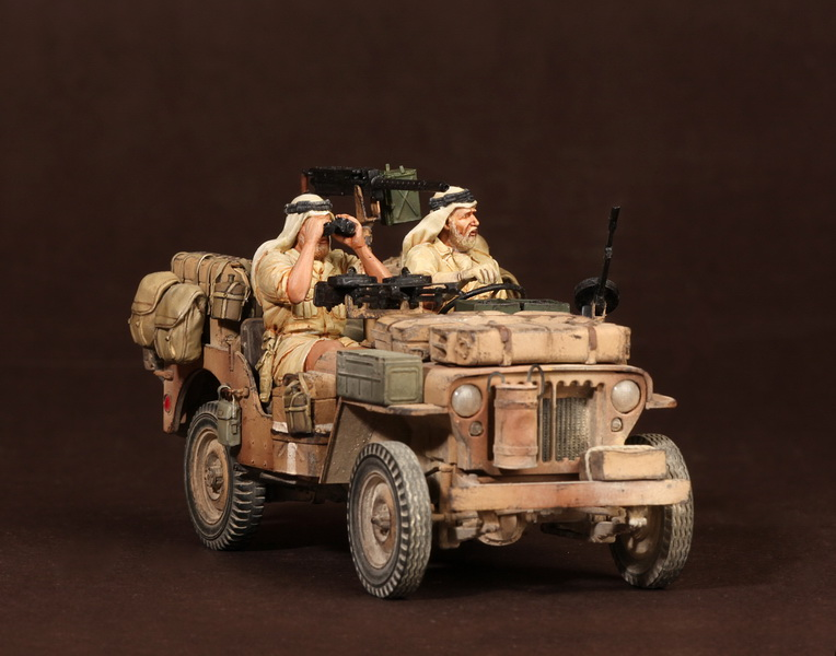 Figures: LRDG/SAS jeeps, photo #53