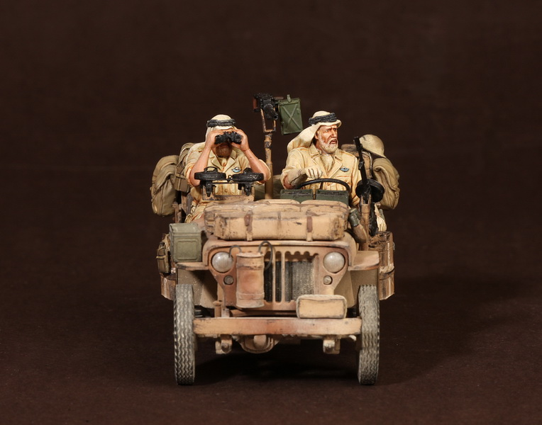 Figures: LRDG/SAS jeeps, photo #54
