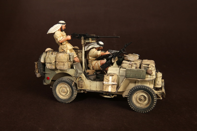 Figures: LRDG/SAS jeeps, photo #6