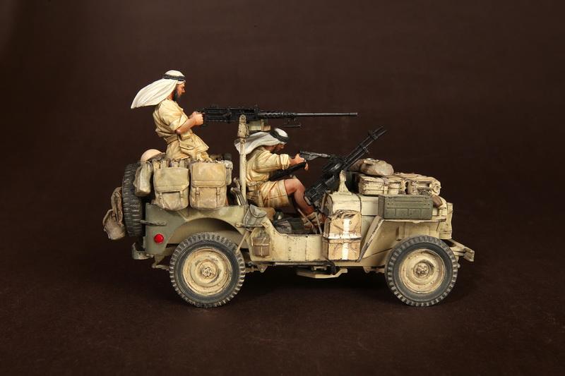 Figures: LRDG/SAS jeeps, photo #7
