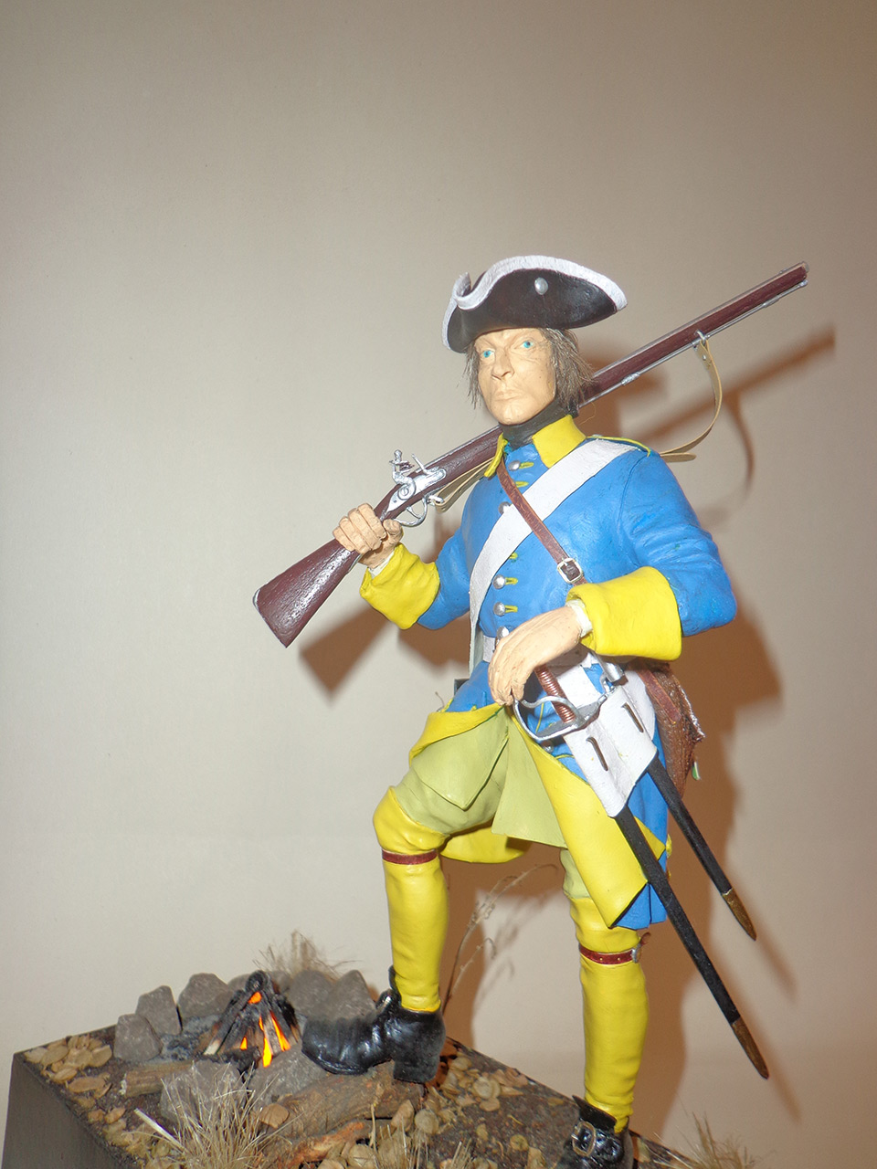 Sculpture: Swedish infantryman. Northern War, photo #1