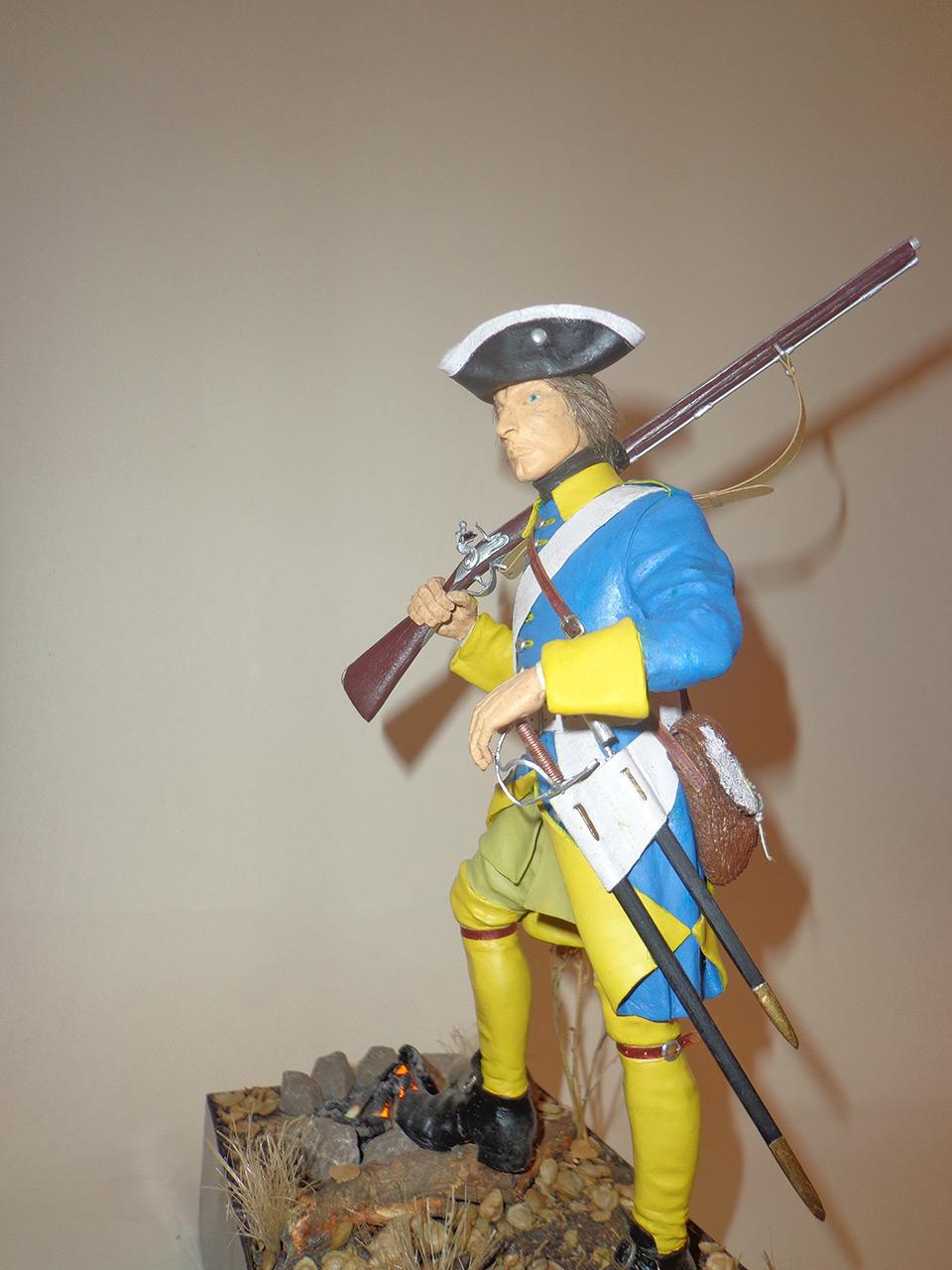 Sculpture: Swedish infantryman. Northern War, photo #2