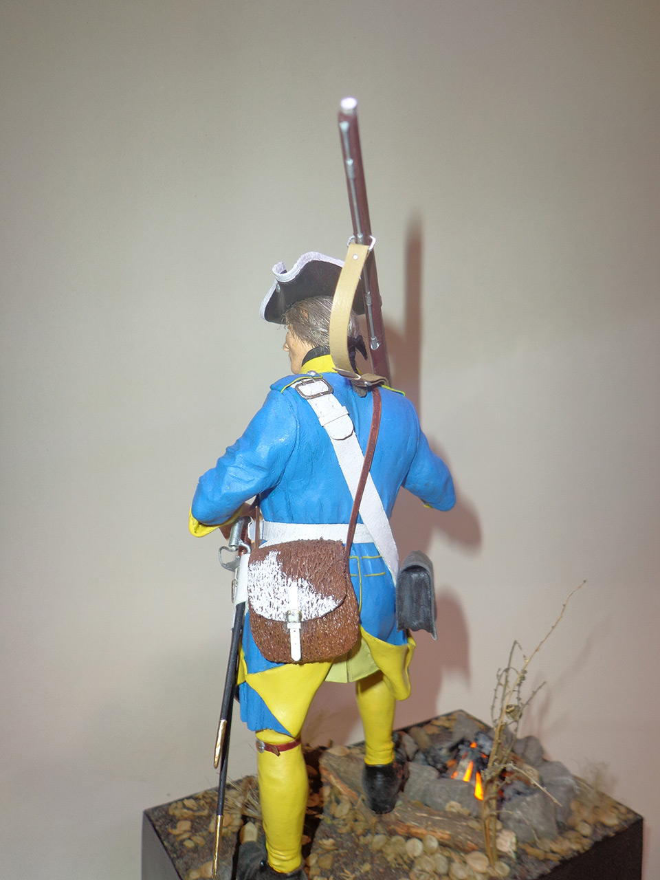 Sculpture: Swedish infantryman. Northern War, photo #3
