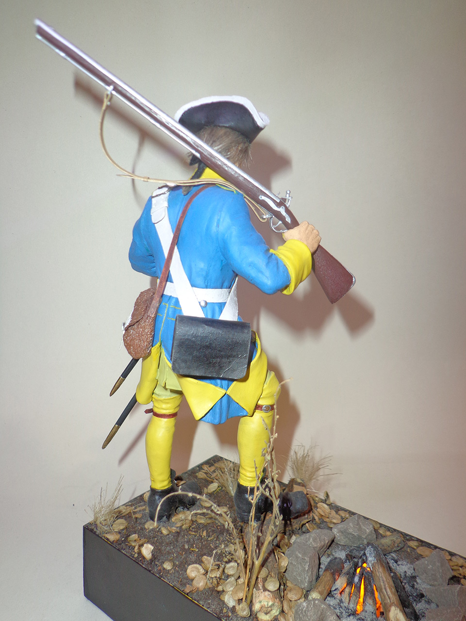 Sculpture: Swedish infantryman. Northern War, photo #4