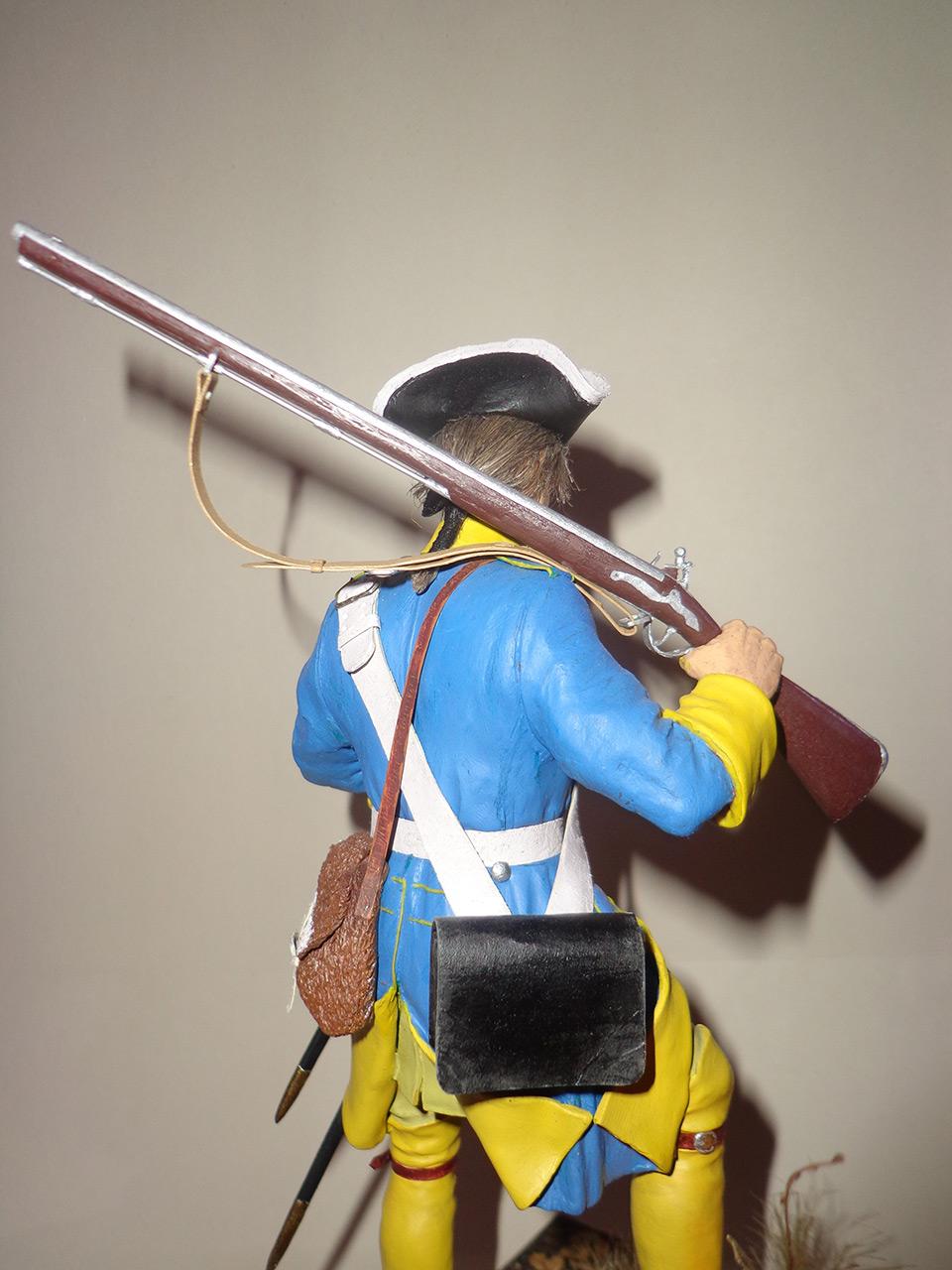 Sculpture: Swedish infantryman. Northern War, photo #5