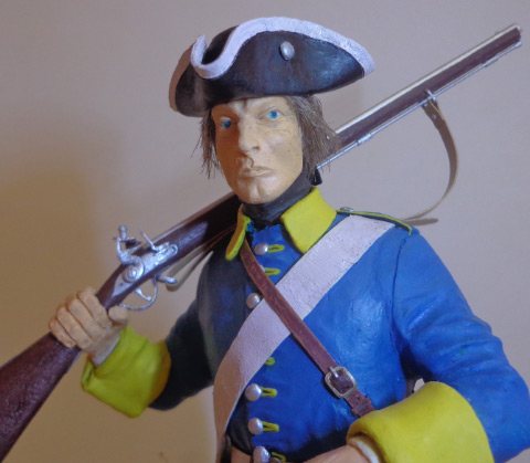 Sculpture: Swedish infantryman. Northern War, photo #6