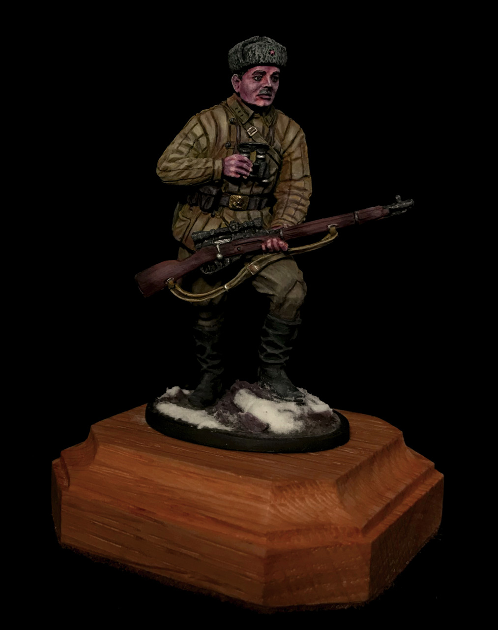 Figures: Soviet sniper, photo #1