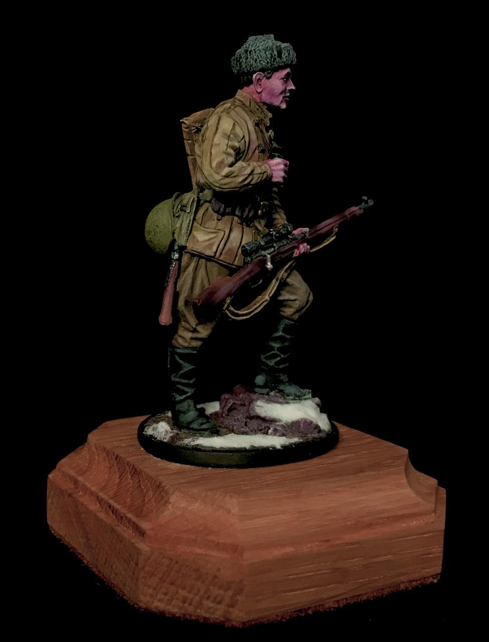 Figures: Soviet sniper, photo #2