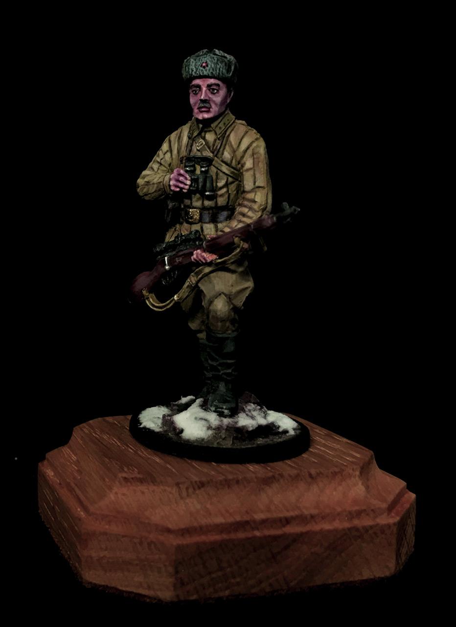 Figures: Soviet sniper, photo #5