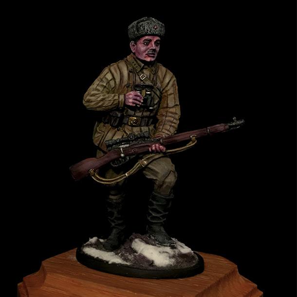 Figures: Soviet sniper