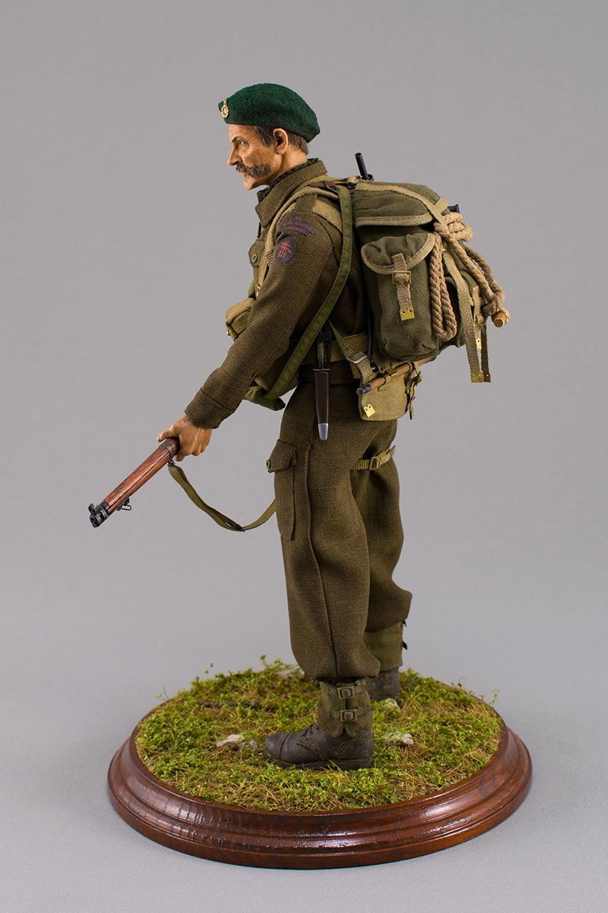 Figures:  Royal Marine Commando. France, 1944, photo #10