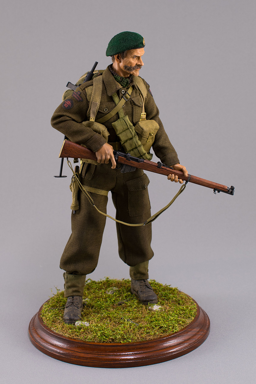 Figures:  Royal Marine Commando. France, 1944, photo #3