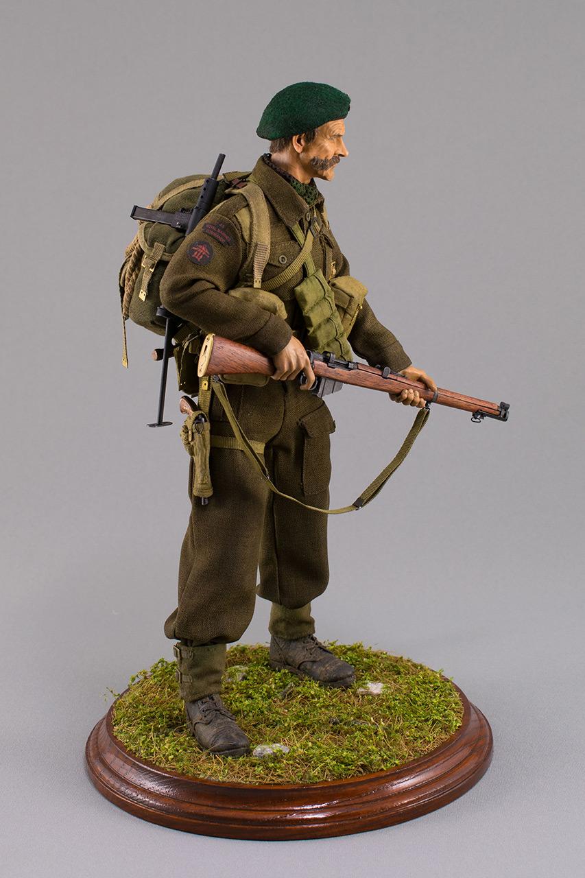 Figures:  Royal Marine Commando. France, 1944, photo #4