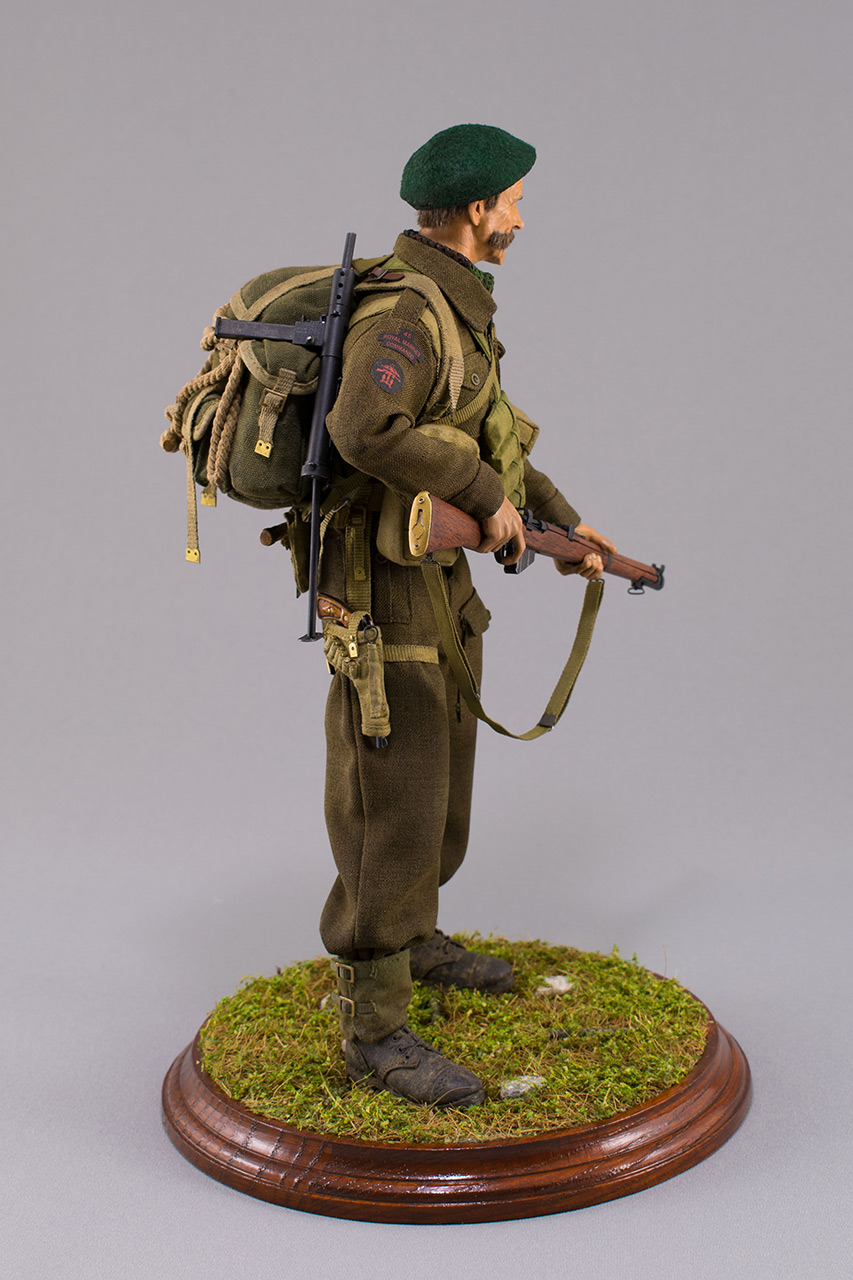 Figures:  Royal Marine Commando. France, 1944, photo #5