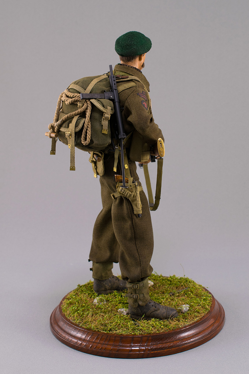 Figures:  Royal Marine Commando. France, 1944, photo #6