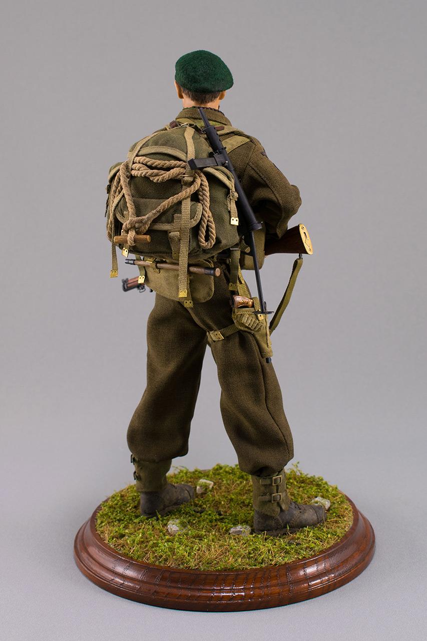 Figures:  Royal Marine Commando. France, 1944, photo #7