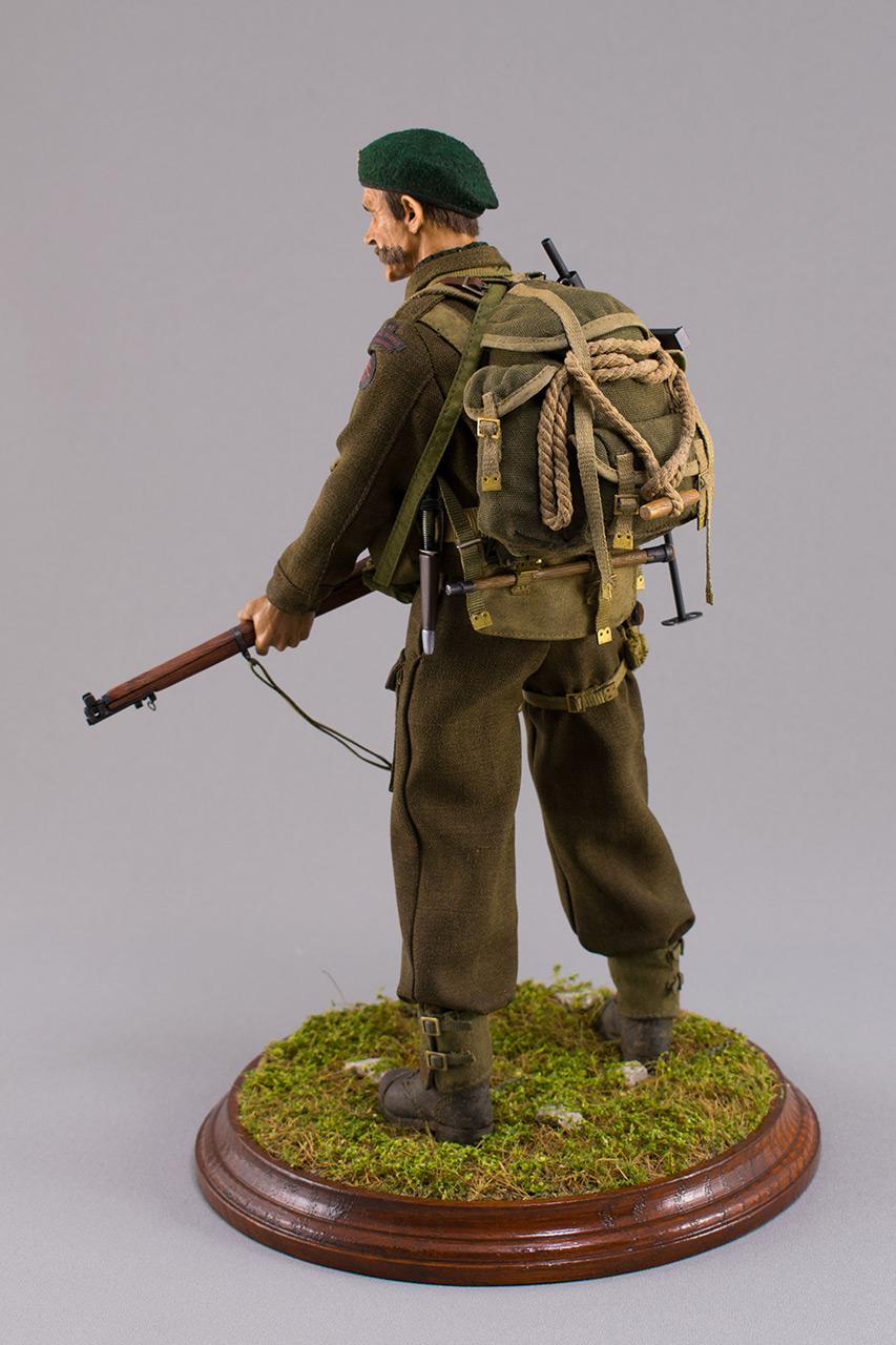 Figures:  Royal Marine Commando. France, 1944, photo #9