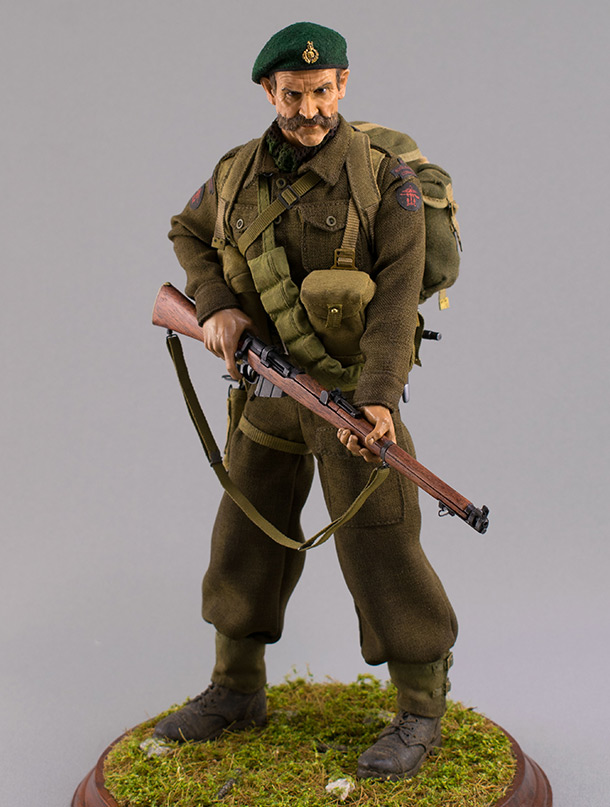 Figures:  Royal Marine Commando. France, 1944