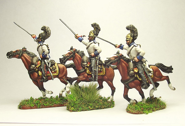 Figures: Prussian Cuirassiers, 1813-15