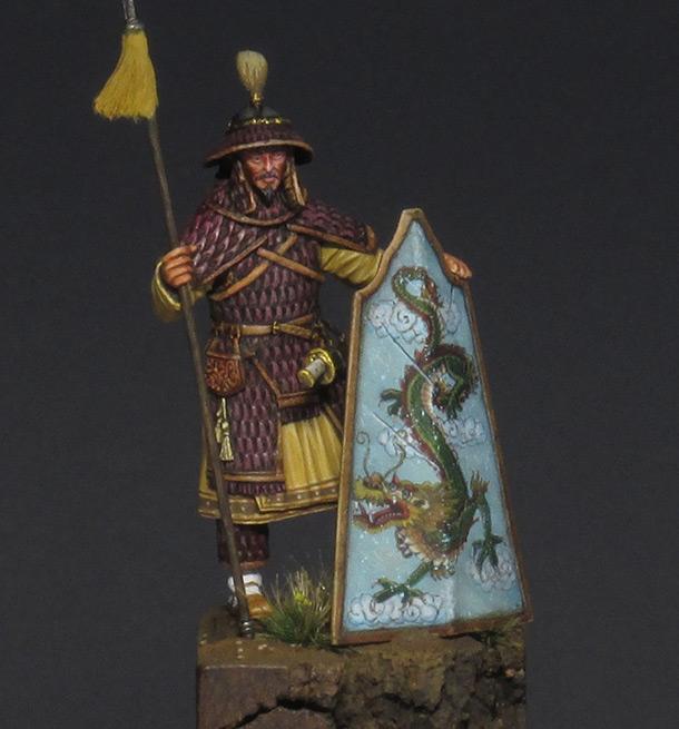Figures: Chinese warrior