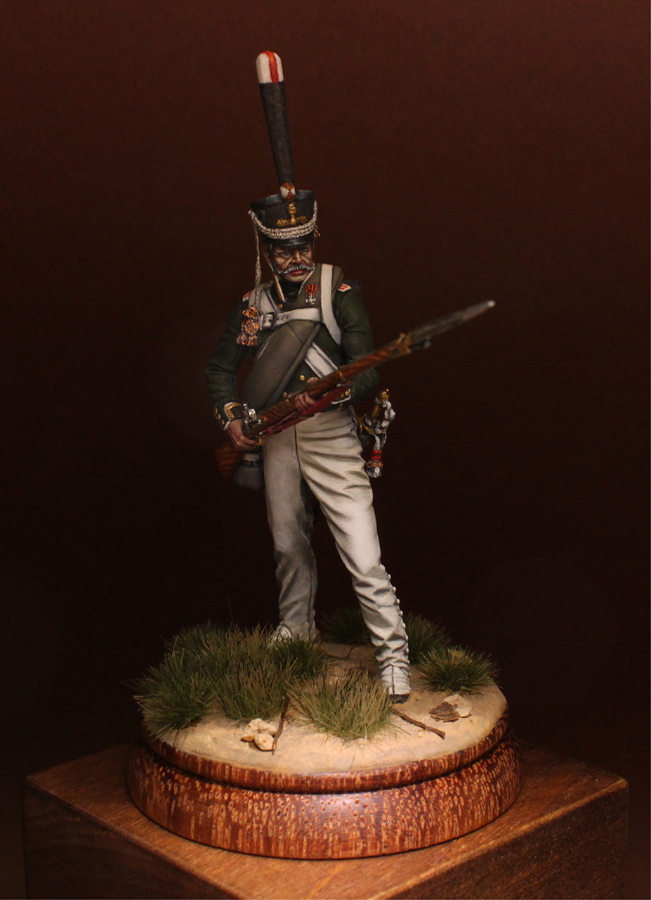 Figures: NCO, 2nd Marine regt., 1812-14, photo #2